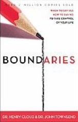 Boundaries by Dr. John Townsend and Dr. Henry Cloud