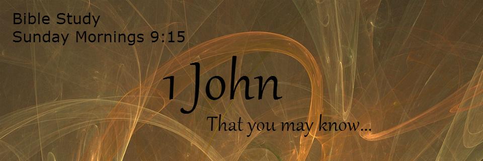 1 John – Sundays 9:15am